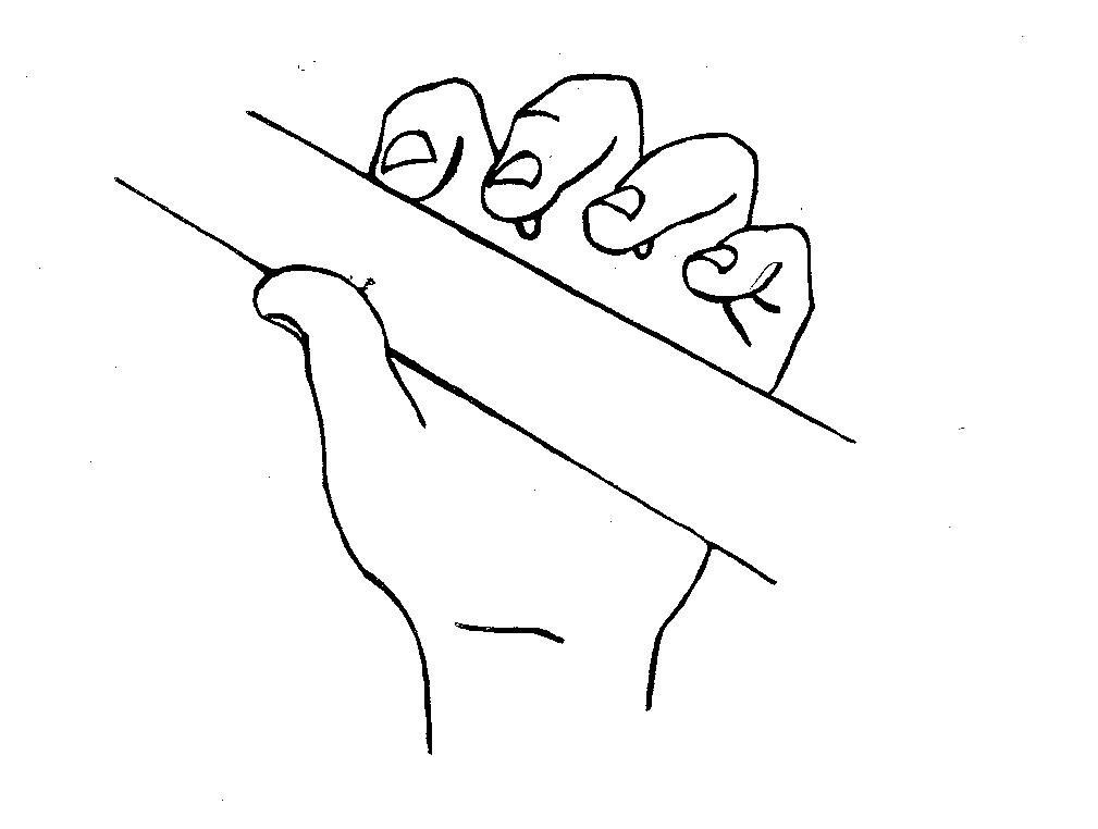 pollice mano sinistra